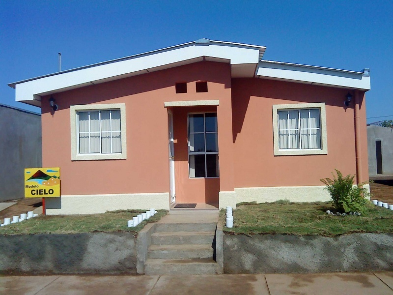 Residencial ciudad el doral vivienda de car cter social for Modelos de techos metalicos para casas