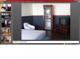 Alquilo casa de dos pisos amueblada en condominio en Bolonia